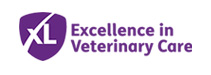 XL excellence in veterinary care logo